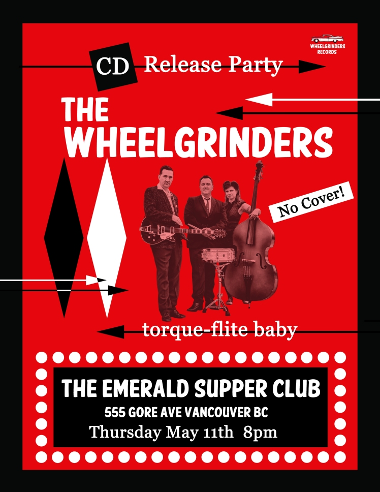 The Wheelgrinders CD Release Party Poster_01