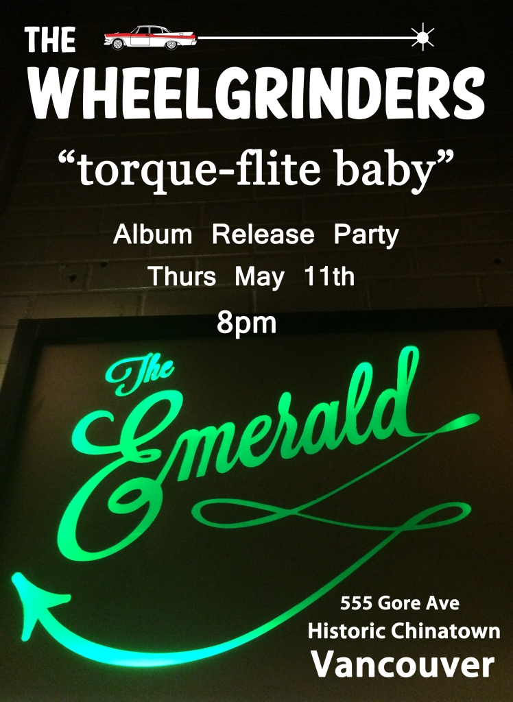 The Wheelgrinders_Album Release Poster 2_The Emerald