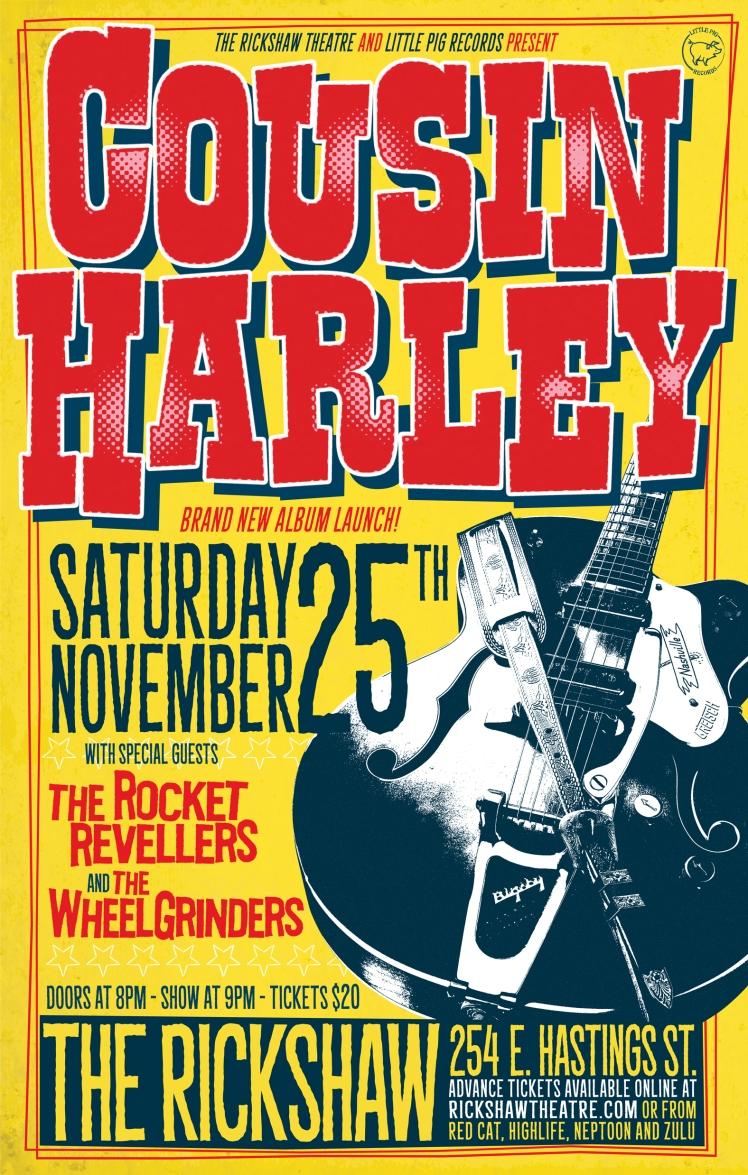 Cousin Harley_Wheelgrinders_Rickshaw Nov 25 2017