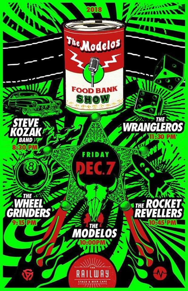 Modellos Food Drive Dec 7th 2018