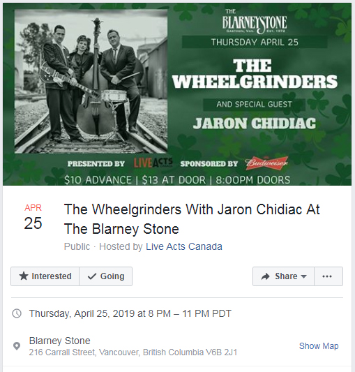 WG_The Blarney Stone April 25th 2019